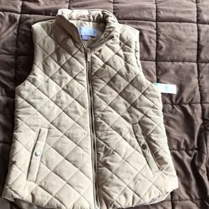 Quilted vest 2 front pockets - NEW